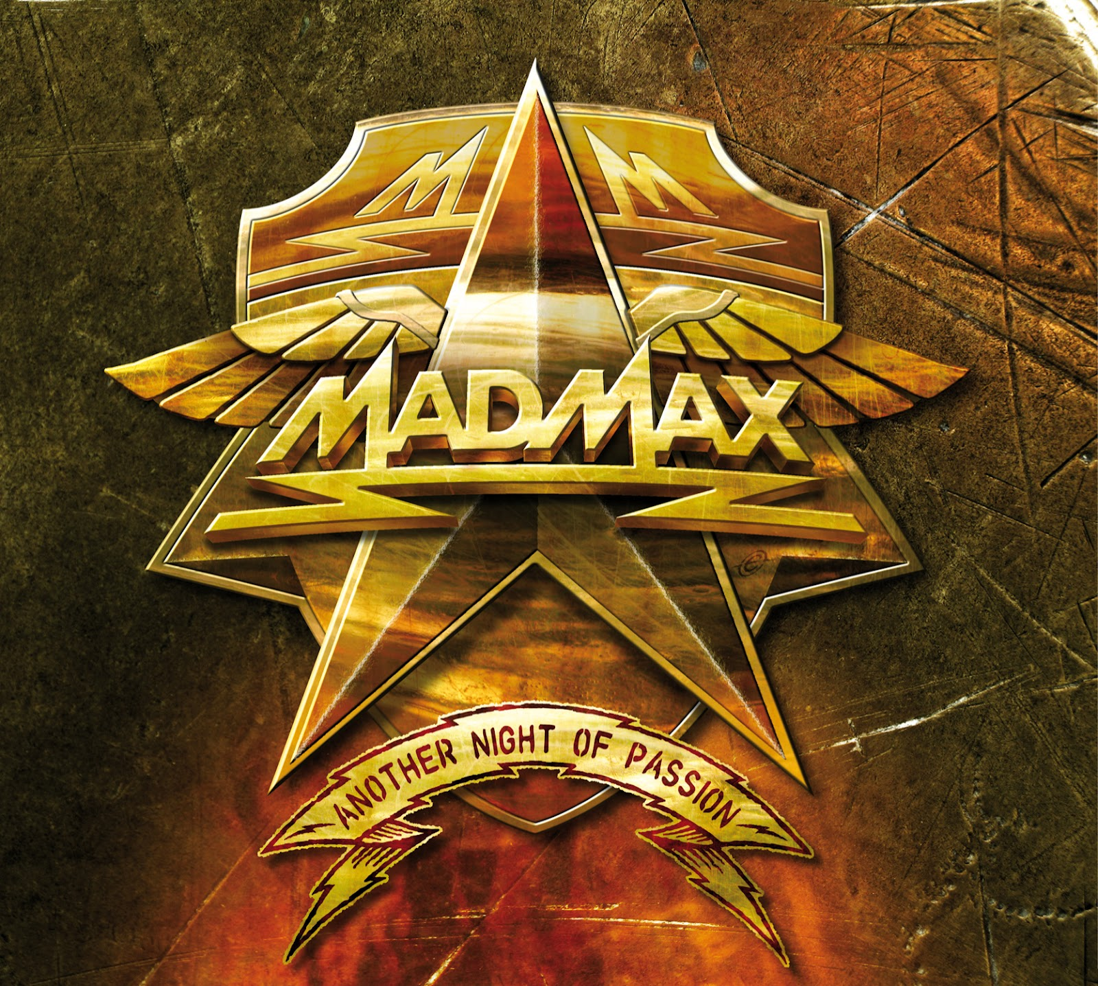 MAD MAX CD Another Night of Passion