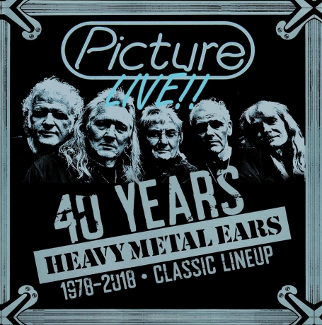 PICTURE CD 40 Years Heavy Metal Ears